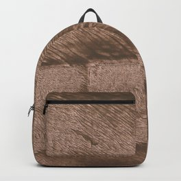 Mud abstract watercolor Backpack