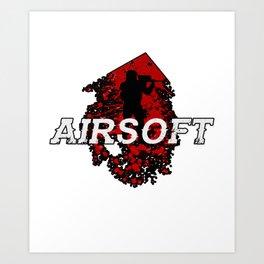 Air soft Air Gun Popgun Pneumatic  Flare Gun Gift  Art Print