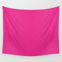 Bright Pink Wall Tapestry