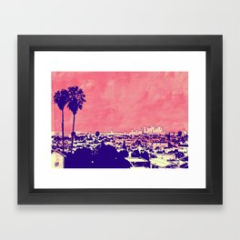 LA 001 Framed Art Print