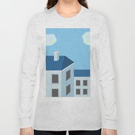Blue roofs Long Sleeve T-shirt