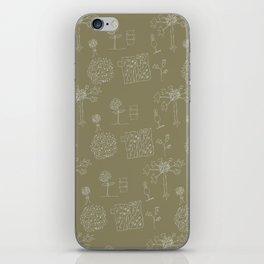 unknown organics iPhone Skin