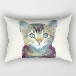 Cat // Aware Rectangular Pillow