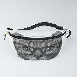 Brainy Cat Fanny Pack