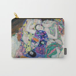 The Maiden Gustav Klimt Carry-All Pouch
