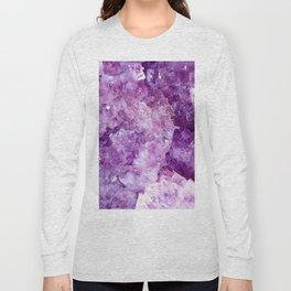 Purple Gems Long Sleeve T-shirt