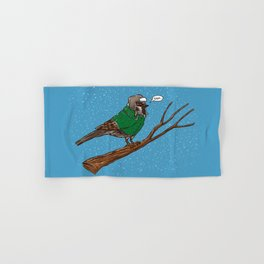 Annoyed IL Birds: The Sparrow Hand & Bath Towel