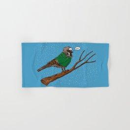 Annoyed IL Birds: The Sparrow Hand & Bath Towel