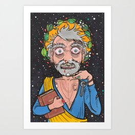 Saint Peter: Cocaine Art Print