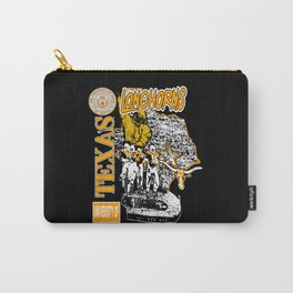 Texas Longhorns Vintage Darrell K Royal Stadium Carry-All Pouch