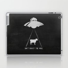 Don't forget the milk. Laptop & iPad Skin