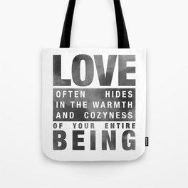 LOVEBEING Tote Bag