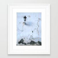 cracked Framed Art Prints featuring Cracked by @lauritadas