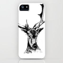 Human Deer iPhone Case