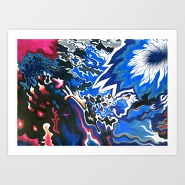 Meltwater Art Print