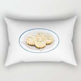 Dim Sum | Pan Fried Dumplings | 生煎包 Rectangular Pillow
