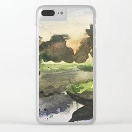 Burma Clear iPhone Case
