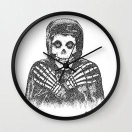 Crimson Ghost Wall Clock