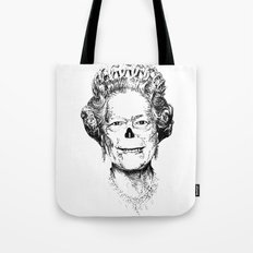 The Warming Dead! The Queen. Tote Bag