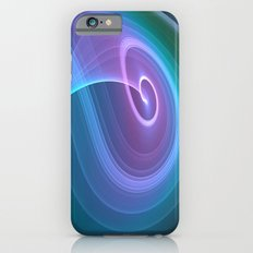 Spiral of Light in Blue iPhone 6s Slim Case