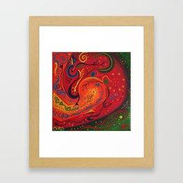 Big Mouth Invertebrate Framed Art Print