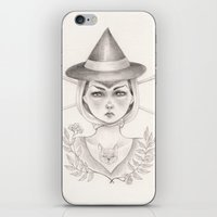 witch iPhone & iPod Skins featuring Witch by Devon Smith