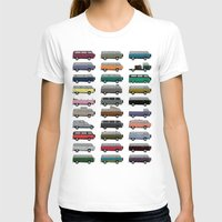 van T-shirts featuring Camper Van by WyattDesign