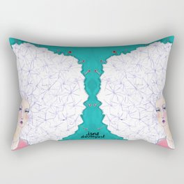 Puffball by Jane Davenport Rectangular Pillow
