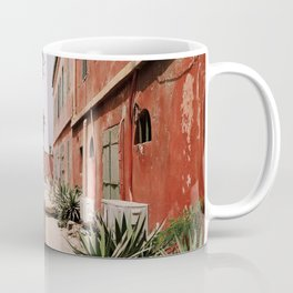 RED 2 STOREY HOUSES Coffee Mug