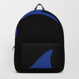 Blue French Horn Backpack