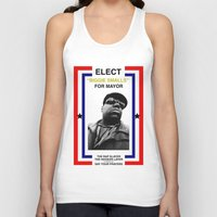 biggie smalls Tank Tops featuring Biggie Smalls for Mayor by tracygrahamcracker