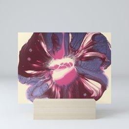 Magenta Purple Floral Mini Art Print