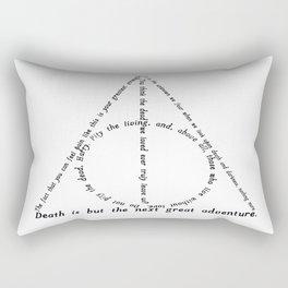 Deathly Hallows Rectangular Pillow