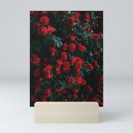 Beautiful Red Roses Mini Art Print