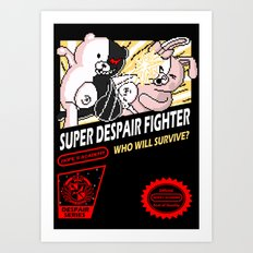Super Despair Fighter Art Print