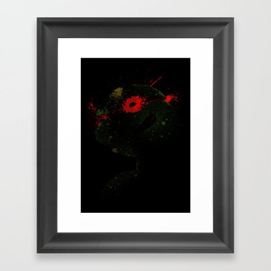 Raph Framed Art Print