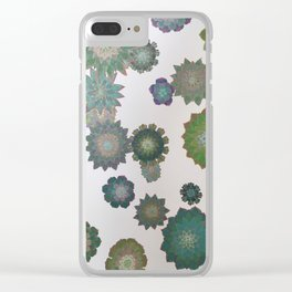 Growing Succulents Clear iPhone Case