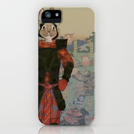 Japanese Hare iPhone Case