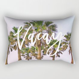 Vacay #society6 #decor #buyart Rectangular Pillow
