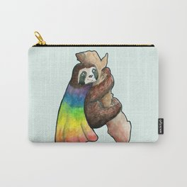 the gay hero sloth Carry-All Pouch