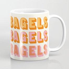 BAGELS BAGELS BAGELS Coffee Mug