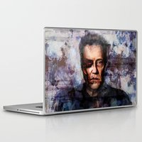 christopher walken Laptop & iPad Skins featuring Christopher Walken Terminator by Jay Gidwitz