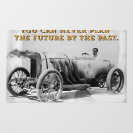BLITZEN BENZ - You can never plan the future by the past. Rug