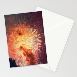 Fourth of July Firework Show Stationery Cards