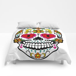 Sugar Skull 14 Comforters
