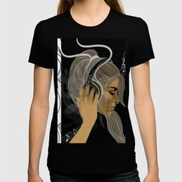 BRAVE SOULS - Music will SAVE Us T-shirt