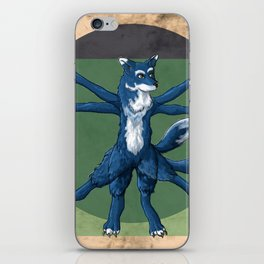 DaVinciDog iPhone Skin