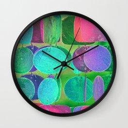 Circles & Squares Pattern 02 Wall Clock