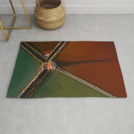 The Tower – Abstract Landscape Photography Rug