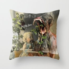 """""""Asking For It"""" Throw Pillow"""